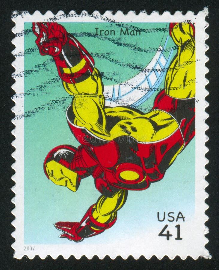 Homem do ferro imagens de stock