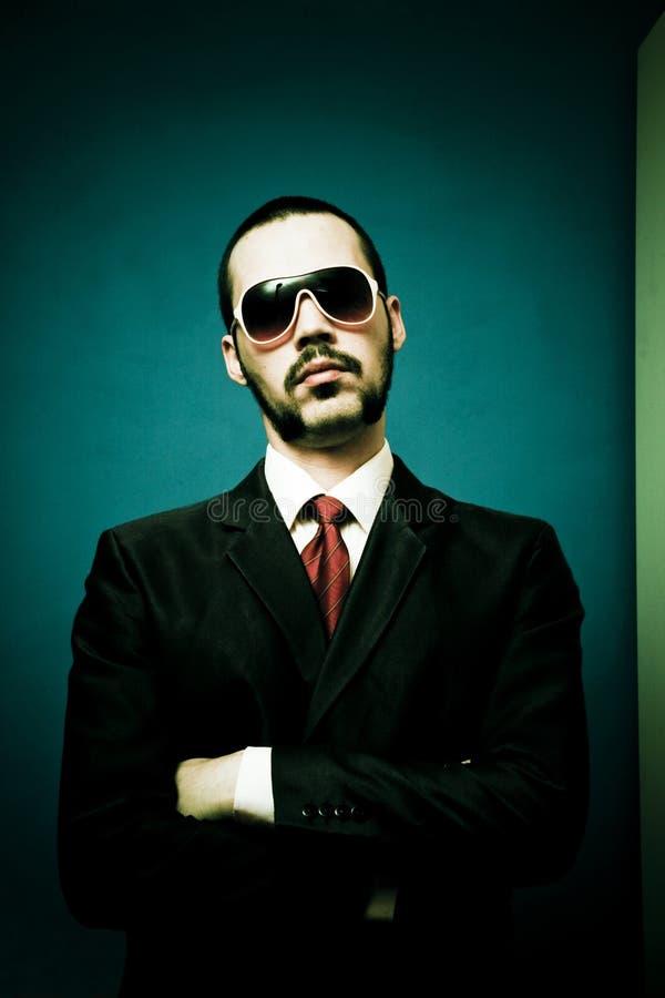 Homem do gangster fotografia de stock royalty free