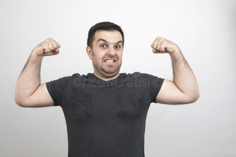 Homem do humor imagem de stock