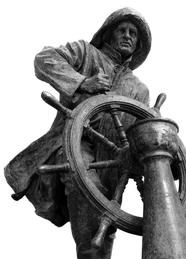 Homem do Leme Statue in Porto royalty-vrije stock foto