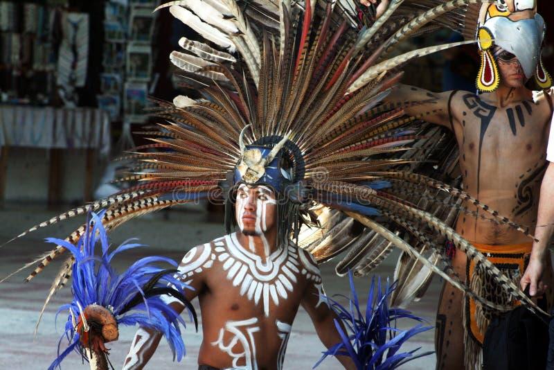 Homem do Maya imagens de stock