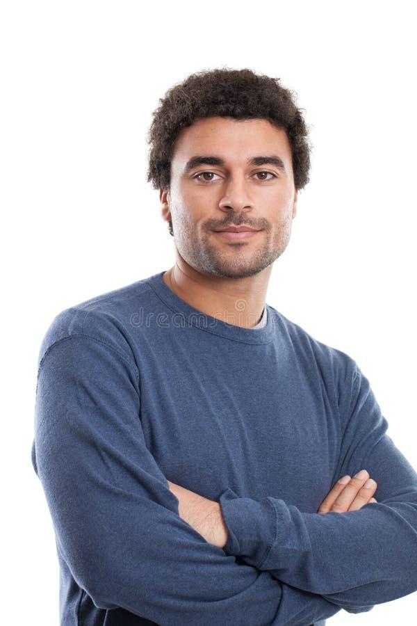 Homem do Oriente Médio considerável fotografia de stock