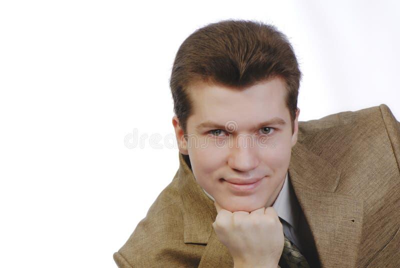 Homem do retrato foto de stock