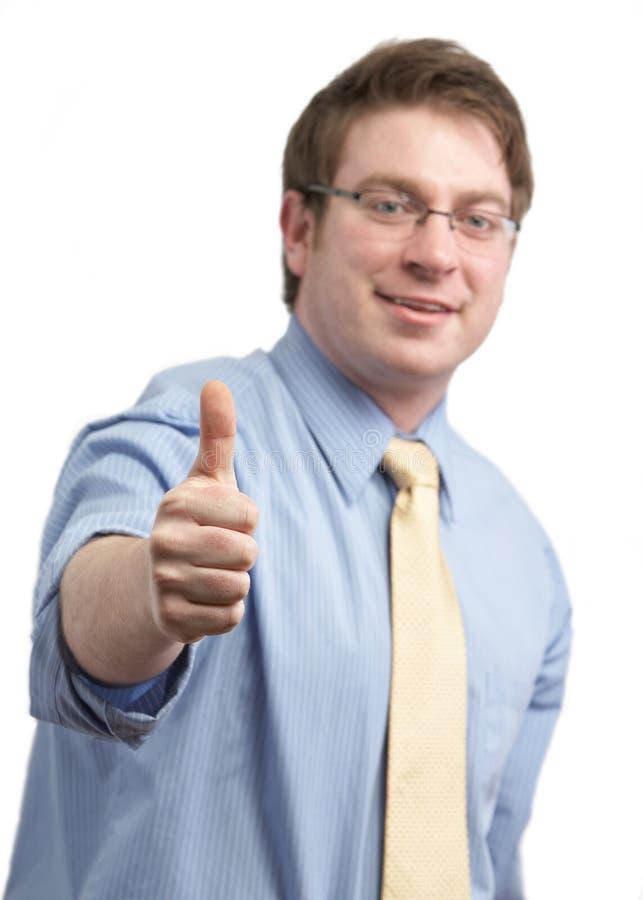 Homem do sucesso fotos de stock