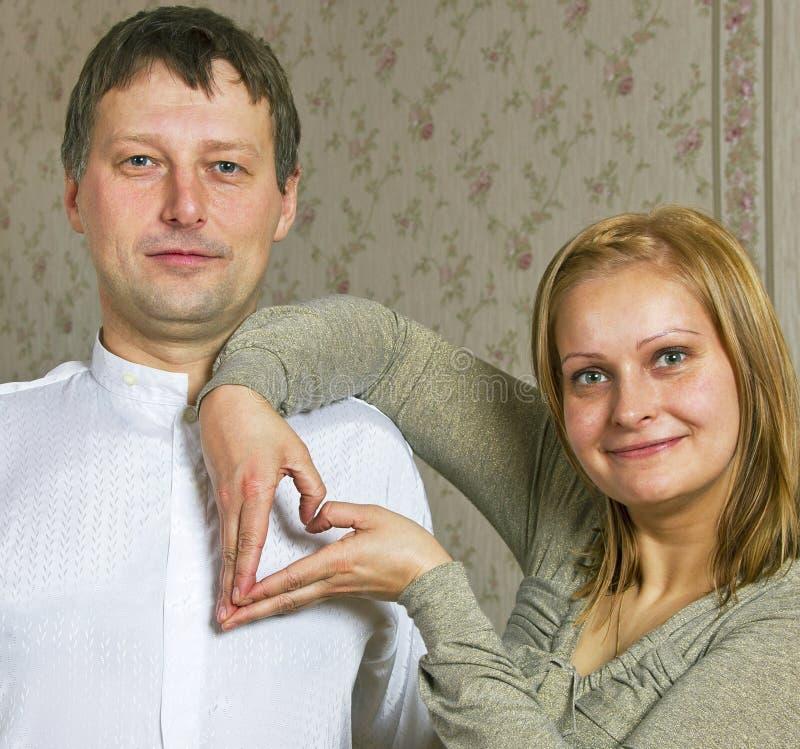 Homem e mulher. imagem de stock royalty free