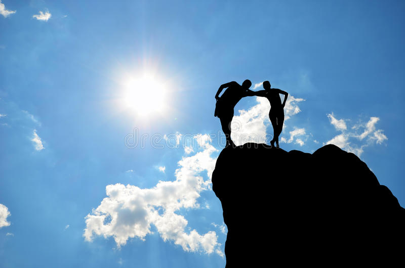Download Homem e mulher foto de stock. Imagem de elevado, altura - 29849352