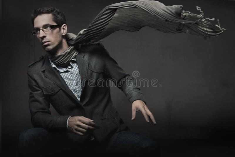 Homem elegante foto de stock royalty free