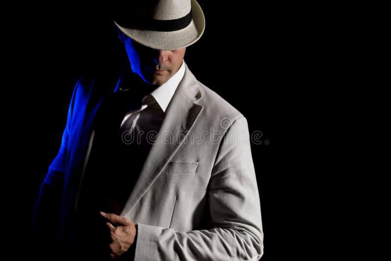 Homem elegante fotografia de stock royalty free