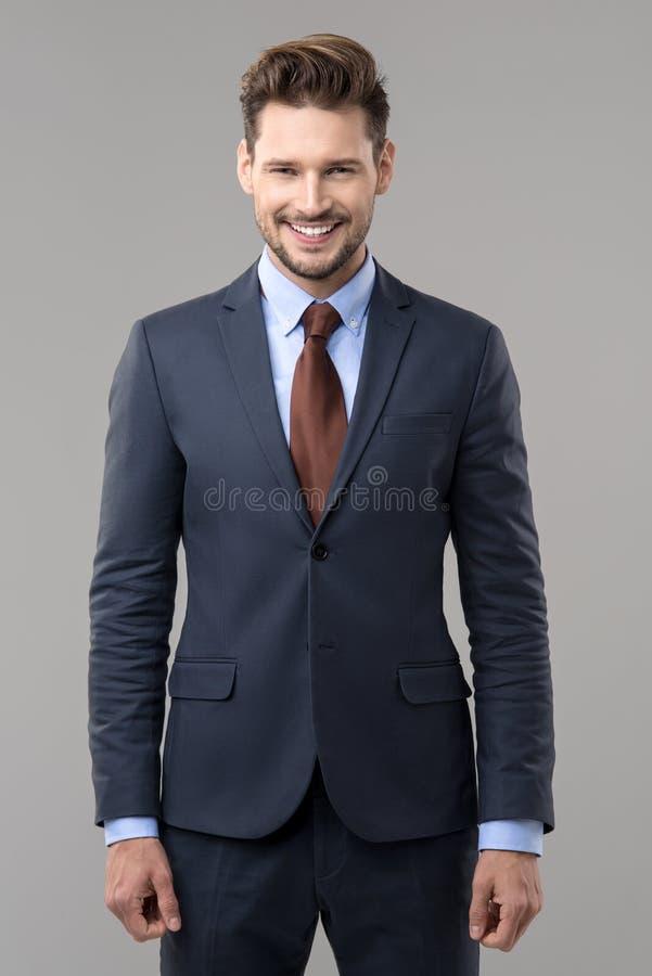 Homem elegante considerável fotos de stock royalty free