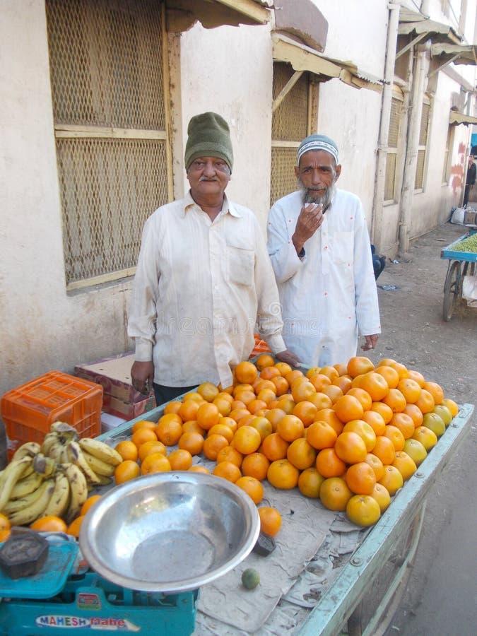 Homem em Junagadh/Índia imagens de stock royalty free
