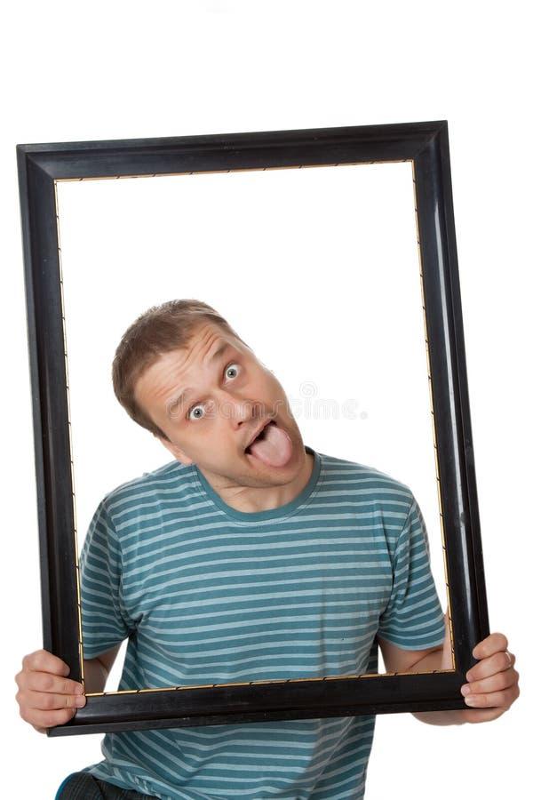 Homem engraçado imagem de stock royalty free