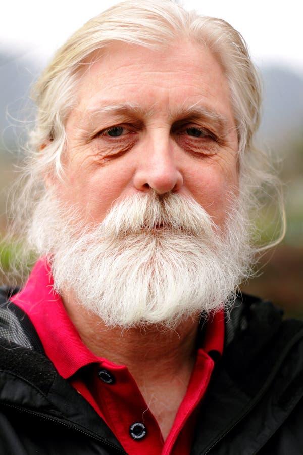Homem envelhecido foto de stock
