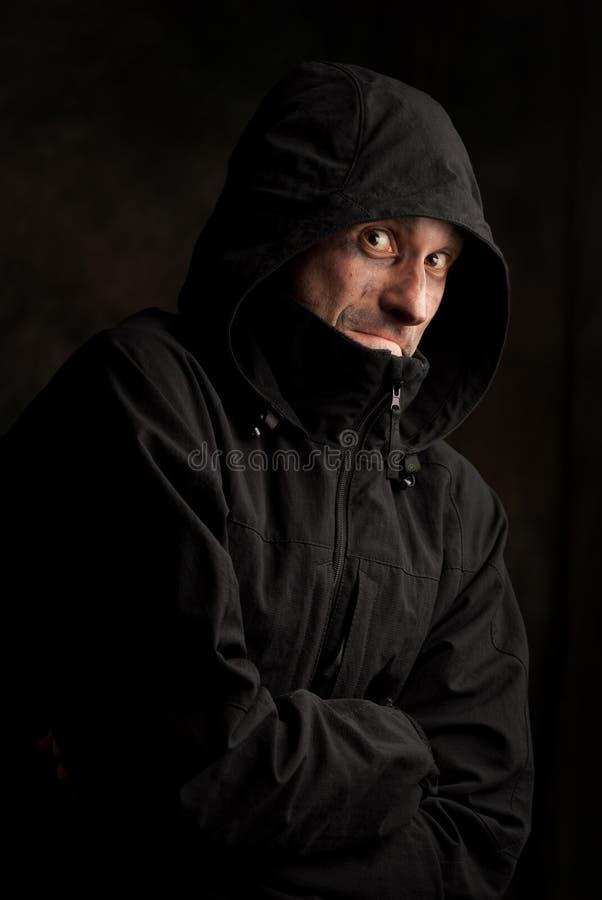 Homem estranho imagem de stock
