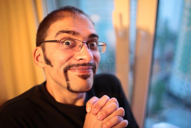 Homem Excited Imagens de Stock