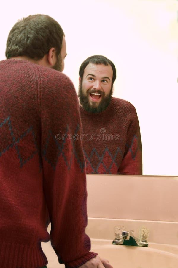 Homem feliz fotos de stock