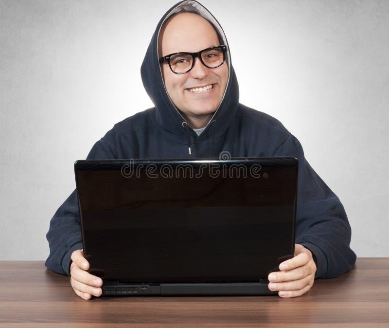 Homem feliz