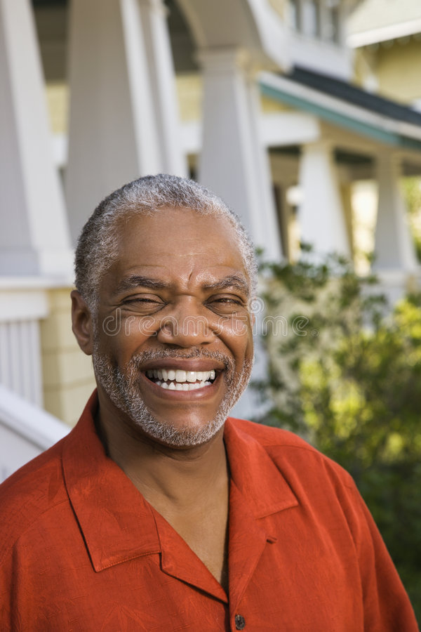 Homem feliz. foto de stock
