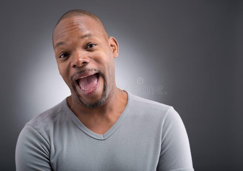 Homem feliz fotografia de stock royalty free
