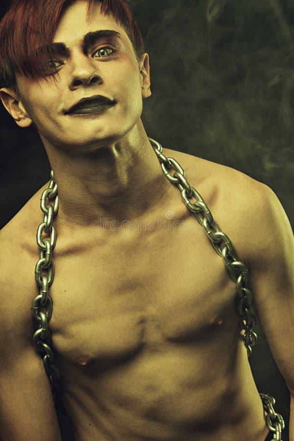 Homem gótico imagens de stock royalty free