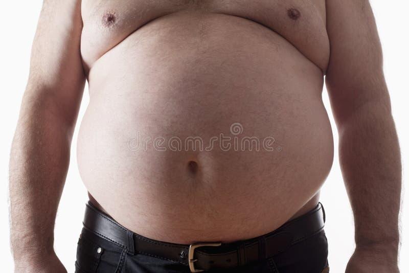 Homem gordo imagens de stock