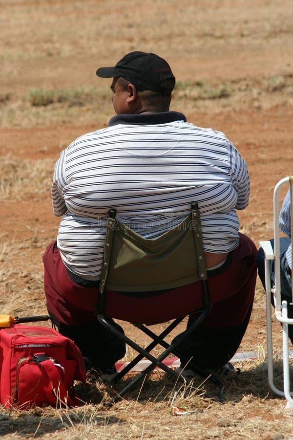 Homem gordo imagem de stock royalty free