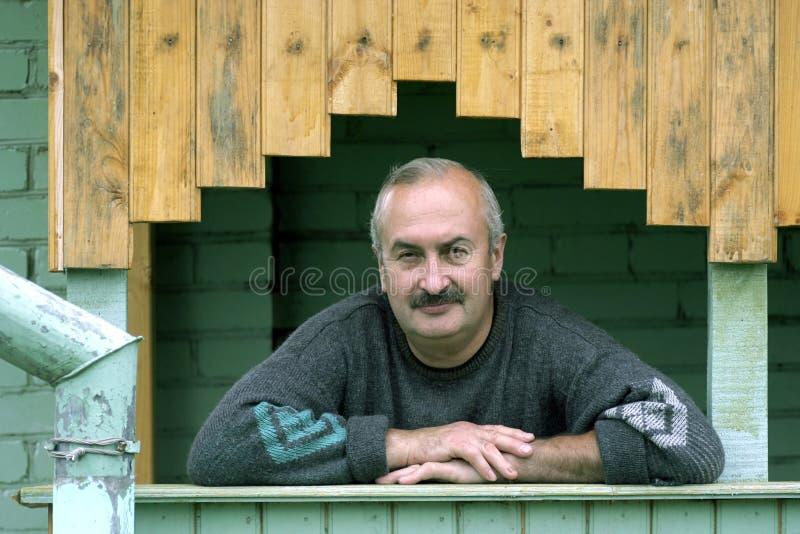 Homem idoso fotografia de stock royalty free