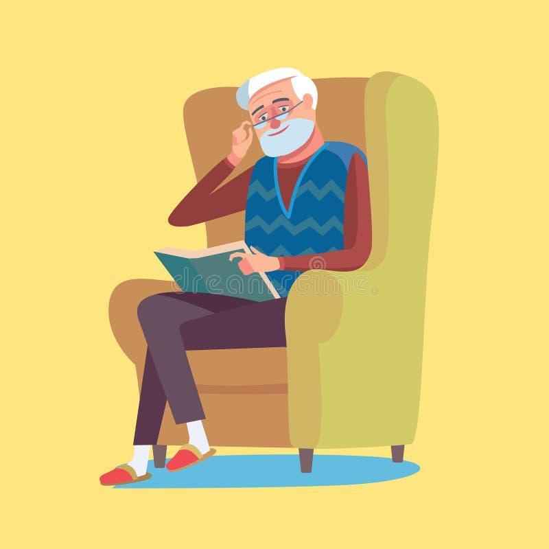 Homem idoso ilustração stock