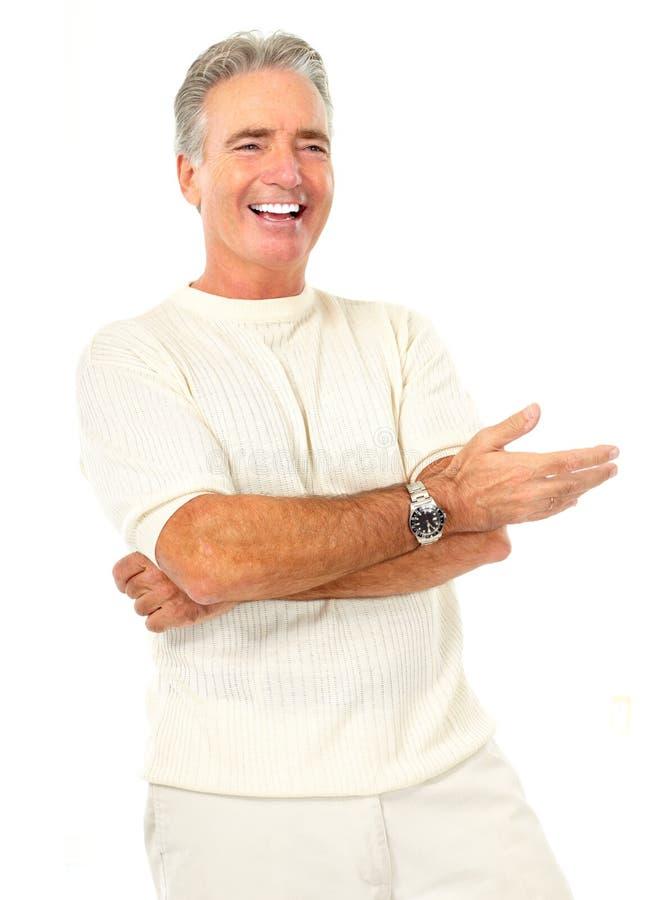 Homem idoso do senoir fotografia de stock royalty free
