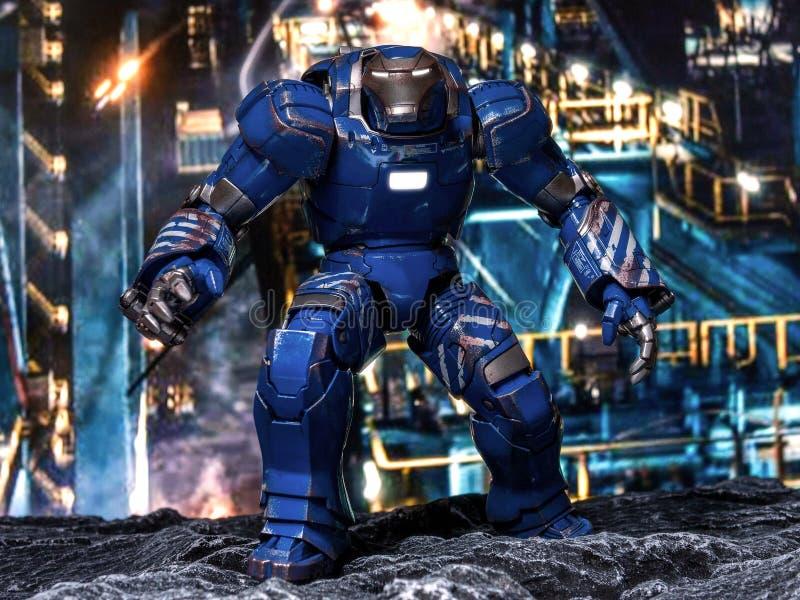 Homem 3 Igor do ferro imagem de stock