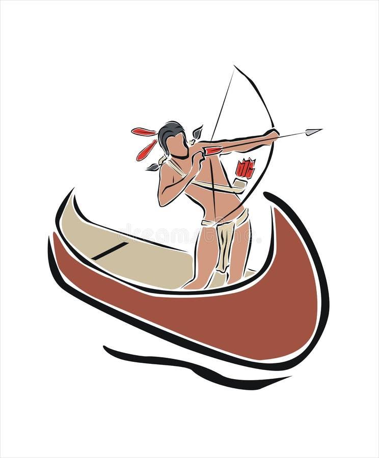 Homem indiano ilustração do vetor