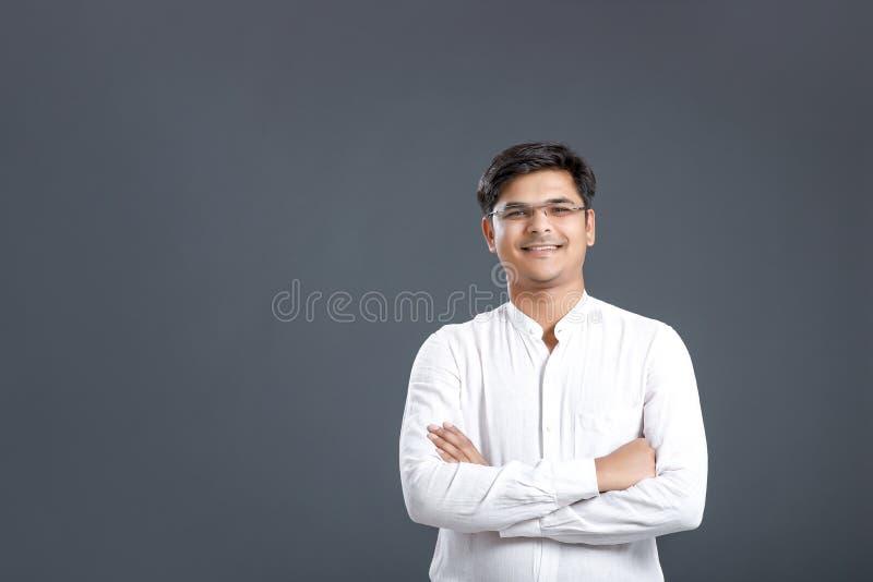 Homem indiano novo fotos de stock