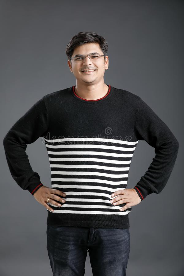 Homem indiano novo imagem de stock