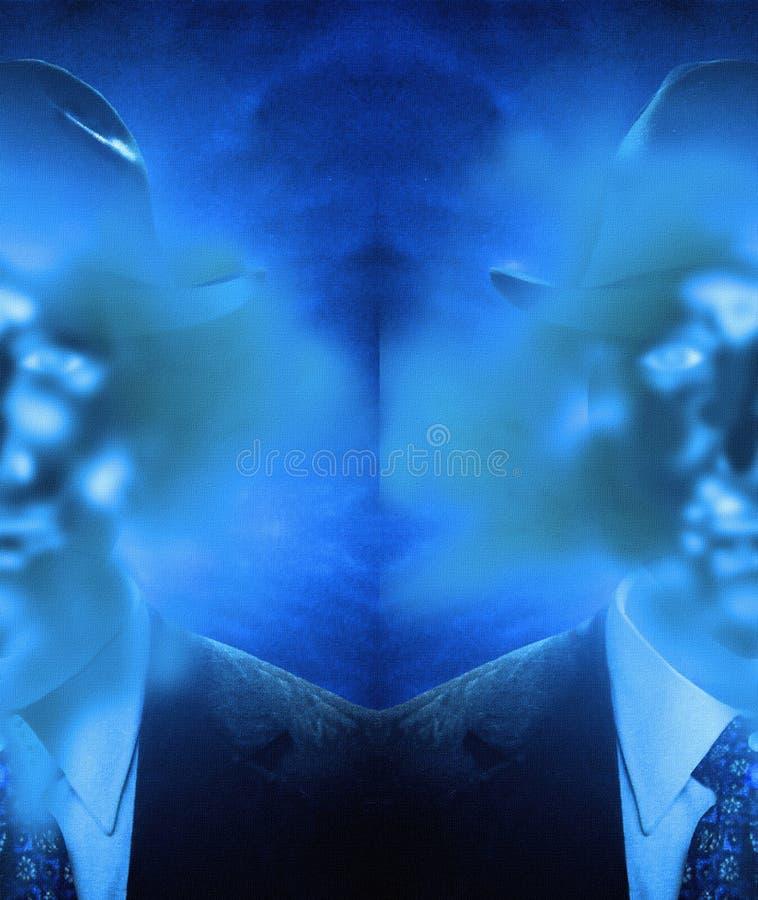 Homem invisível ilustração royalty free