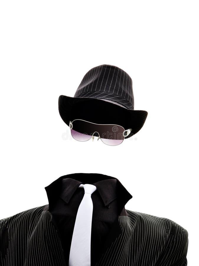 Homem invisível fotografia de stock royalty free