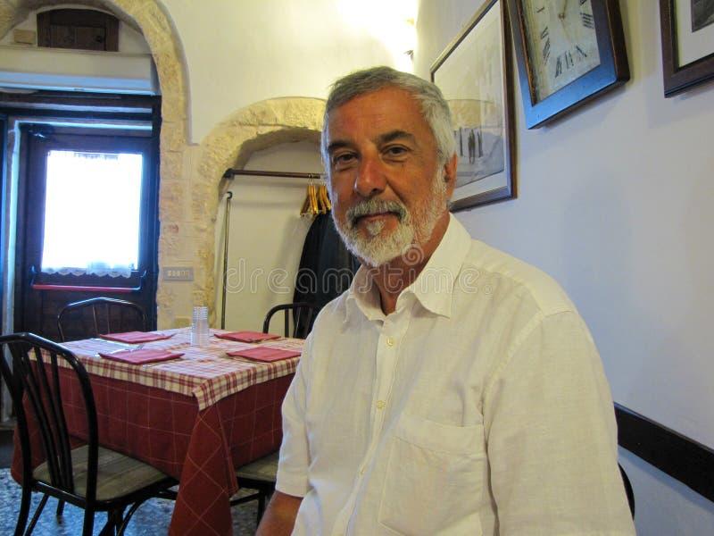 Homem italiano imagem de stock
