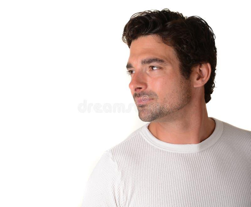 Homem italiano considerável imagem de stock