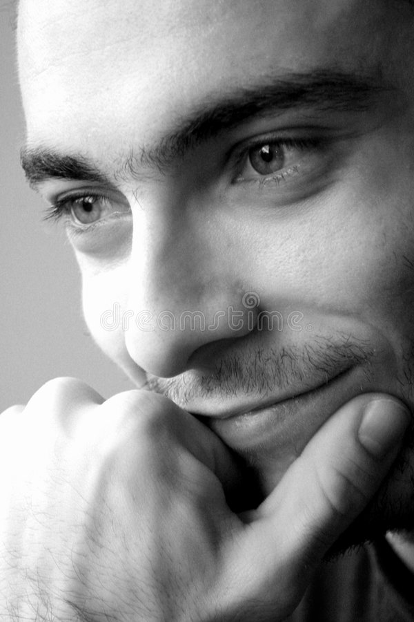 Homem italiano modelo do menino/olho magnético fotos de stock royalty free