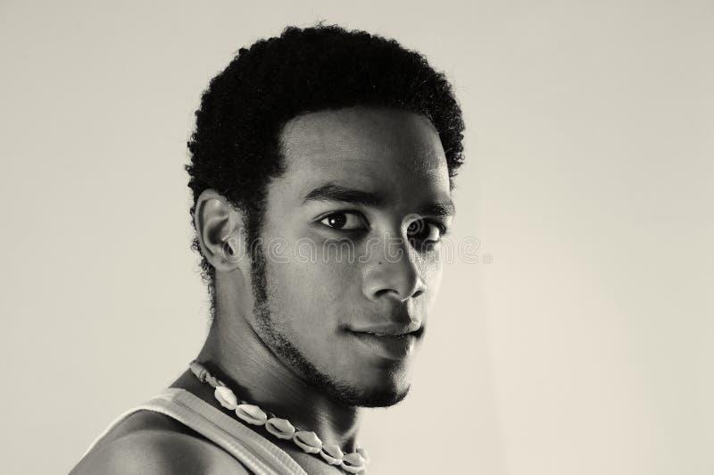 Homem latino-americano africano imagem de stock