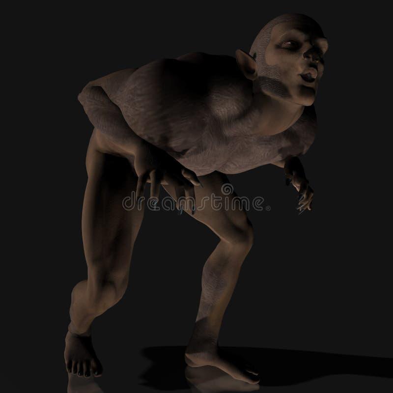 Homem-lobo #01 ilustração do vetor