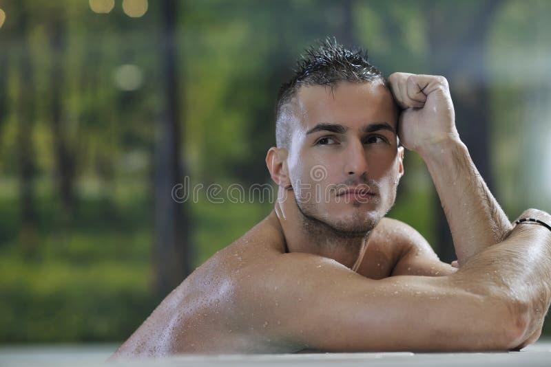 Homem macho fotos de stock