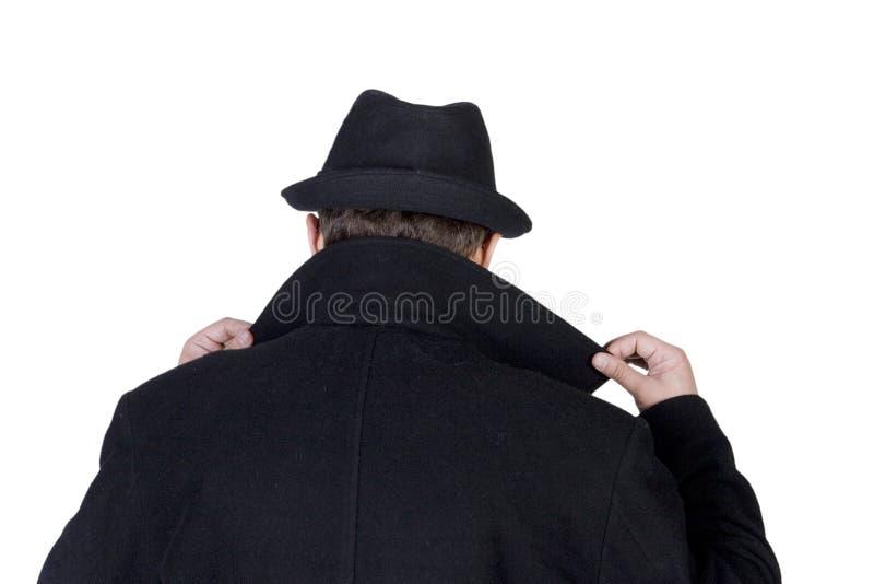 Homem misterioso imagens de stock royalty free