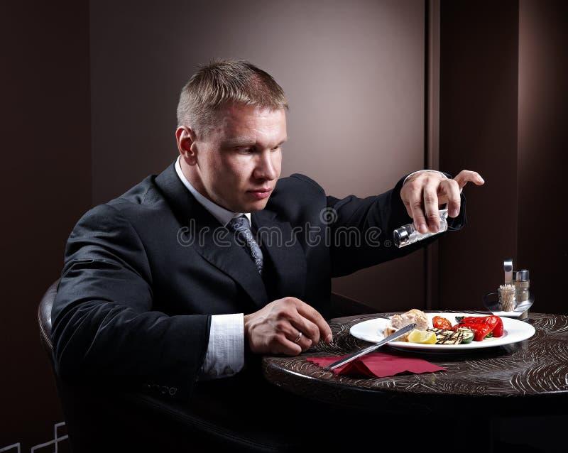 Homem muscular fotografia de stock