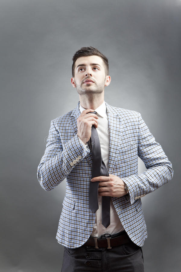 Homem na moda imagens de stock royalty free
