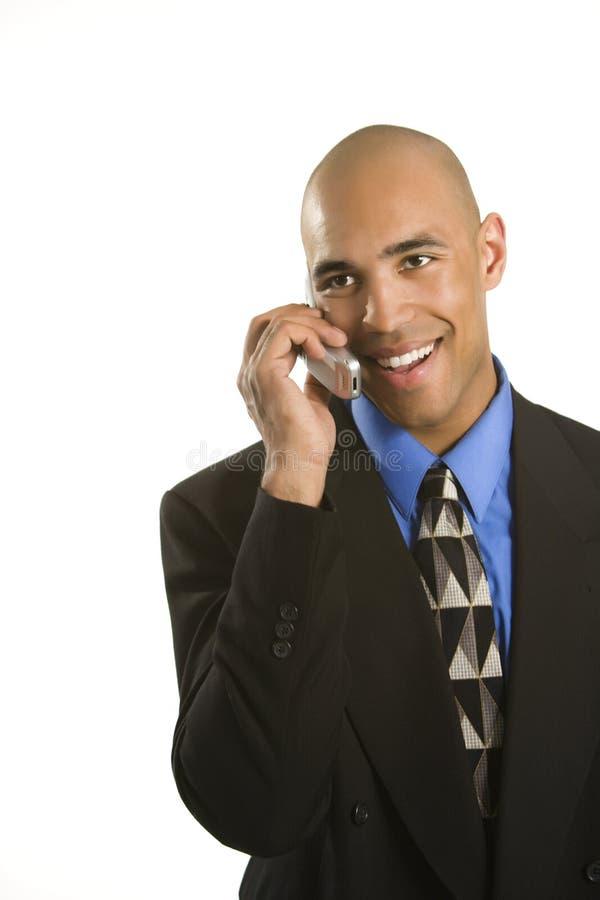 Homem no telemóvel. imagens de stock royalty free