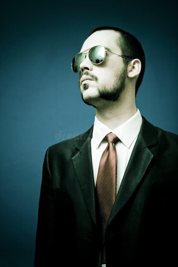 Homem no terno fotos de stock
