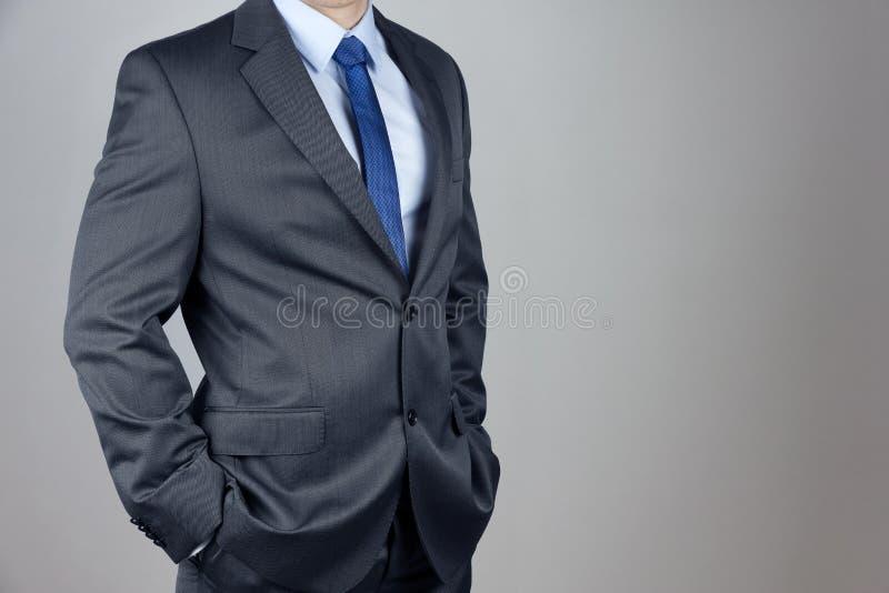 Homem no terno imagem de stock royalty free