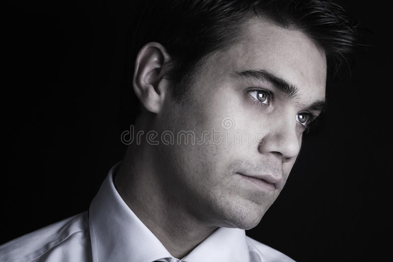 Download Homem novo à moda imagem de stock. Imagem de branco, faltar - 12802467