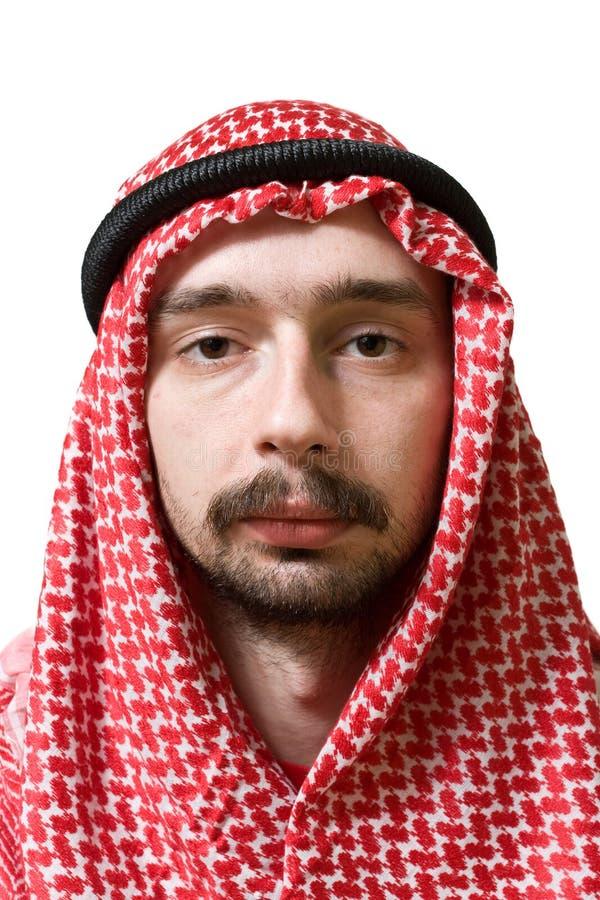 Homem novo árabe imagens de stock