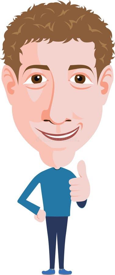 Homem novo ilustração royalty free