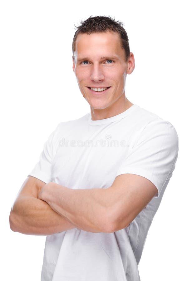 Homem novo imagem de stock